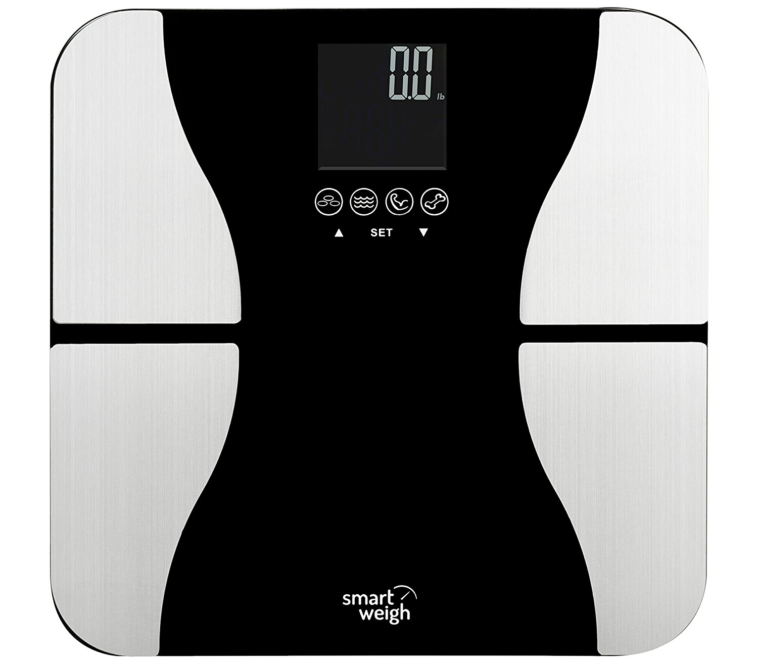 Smart Weigh Digitale Körperfettwaage SW-SBS500